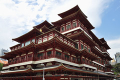 Singapore - Impressive Chinese Temple