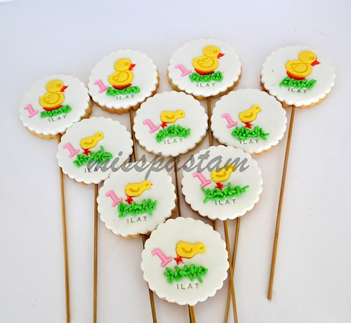 little duck cookies by MİSSPASTAM