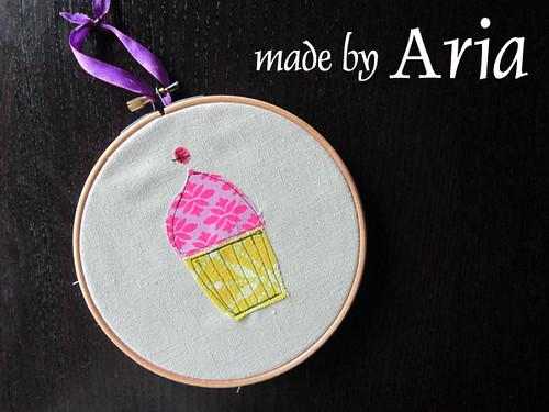 Cupcake, made by Aria