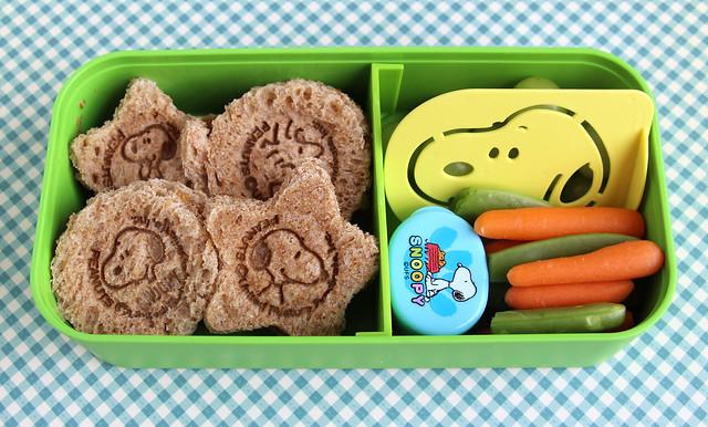 Snoopy Preschool Bento #459