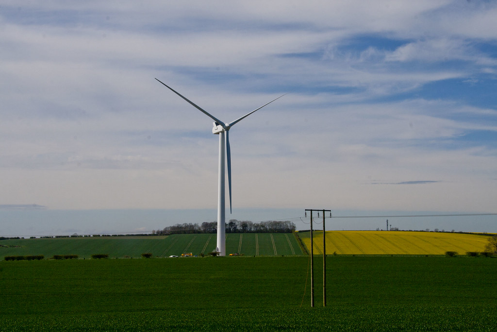 Wind Turbine Sancton Hill