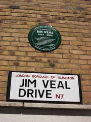 Photo of Jim Veal plaque