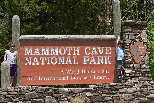 Mammoth Cave National Park with kids