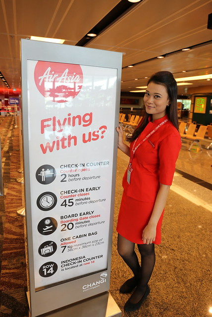 Flying with AirAsia? Someone's always at hand to help