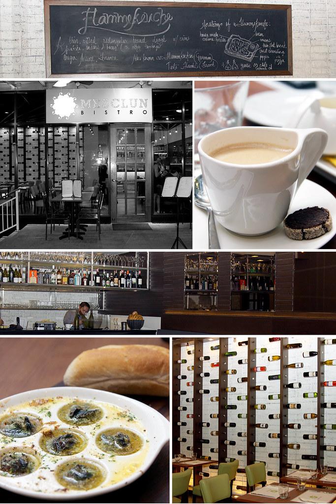 Mesclun Bistro collage 2