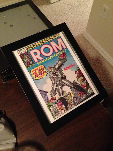 Comic book framing project using IKEA photo frames