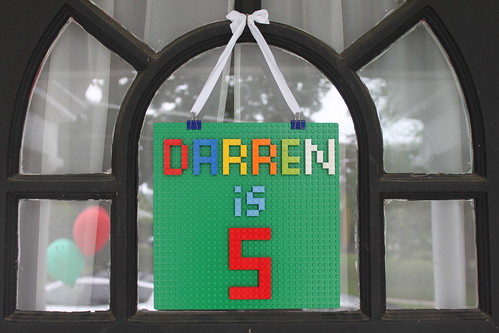 Darren is 5!