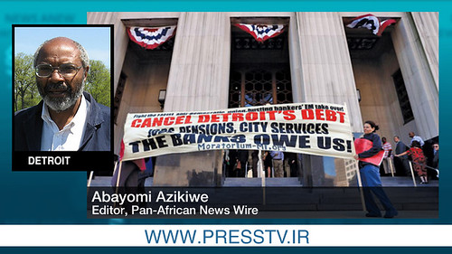 Abayomi Azikiwe, editor of the Pan-African News Wire, has written extensively on the economic crisis in Detroit. He is now covering the bankruptcy hearings downtown. by Pan-African News Wire File Photos