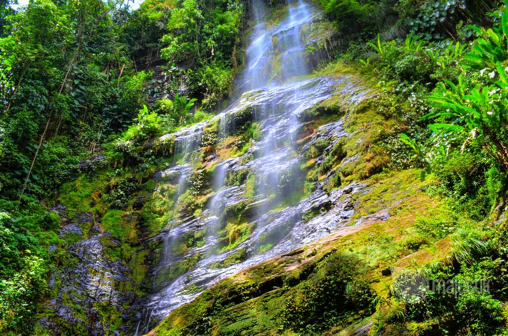 En Trinidad y Tobago: Maracas waterfall, sky waterfall ...  Trinidad And Tobago Maracas Falls