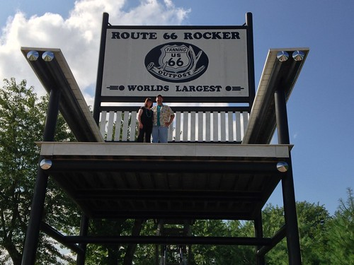 The World's Largest Rocking Chair - Fanning 66 Outpost
