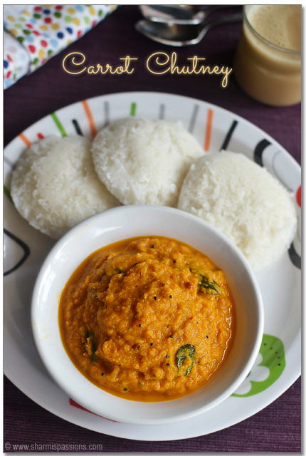 Carrot Chutney Recipe