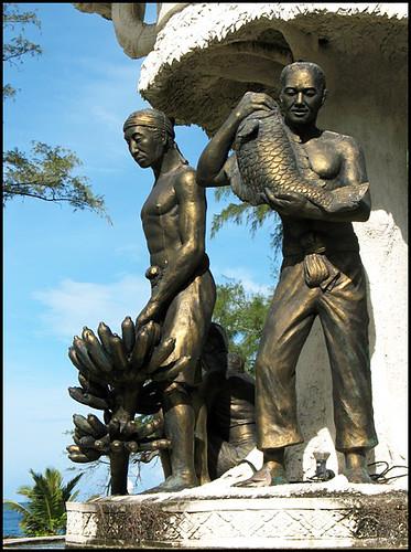 Statue at Karon Circle