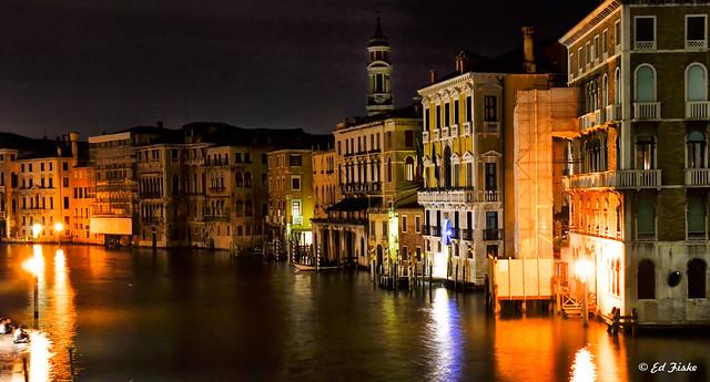 Venice...after dark...