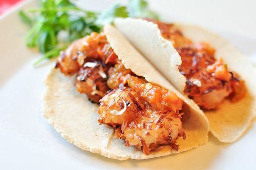 Coconut Shrimp Tacos with Roasted Pineapple Salsa 1