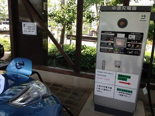 道の駅阿蘇 EV充電設備