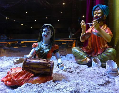 Indian Restaurant Figurines