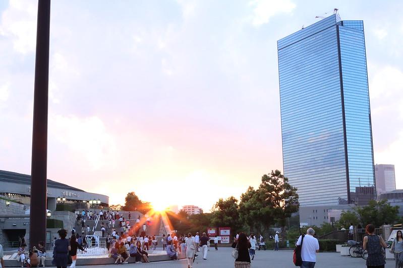 Osaka CastlePark_Sunset