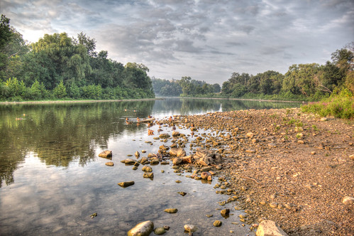 morning ontario bird london water thames sunrise canon river landscape hdr earlymorninglight 60d