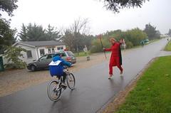 Pas på denne 'speed-demon'.. Det er cykelsport!