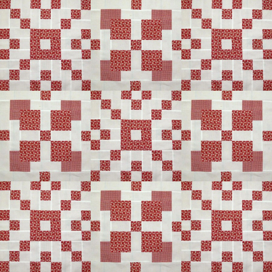 More for the Red and White quilt