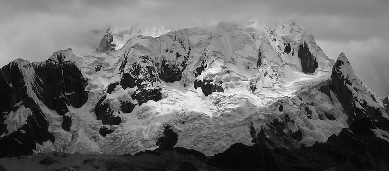 Nevado Rasac from near Yaucha Punta