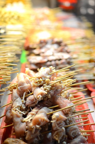 night market sticks