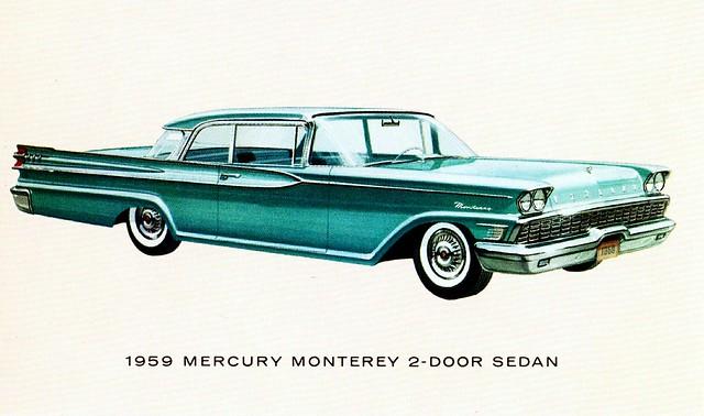 1959 Mercury Monterey 2 Door Sedan Flickr Photo Sharing