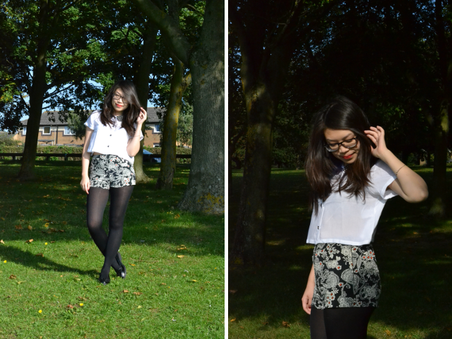 Daisybutter - UK Style and Fashion Blog: what i wore, ootd, fashion blogger, vintage motel rocks, AW13