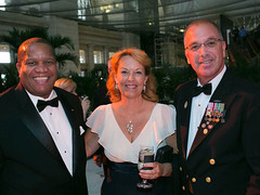 MCPOCG Leavitt attends 2013 AFCEA Dinner