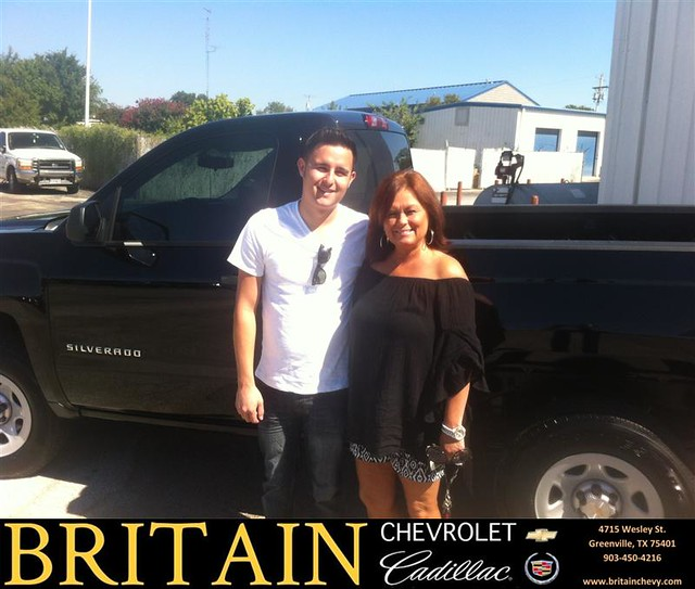 Thank You To Jordon Foster On Your New 2014 #Chevrolet