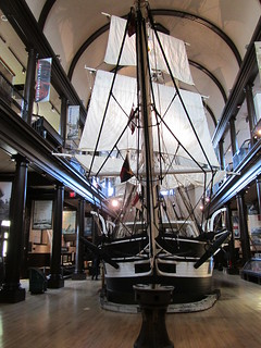USA - Massachusetts - New Bedford - New Bedford Whaling Museum - Lagoda of New Bedford