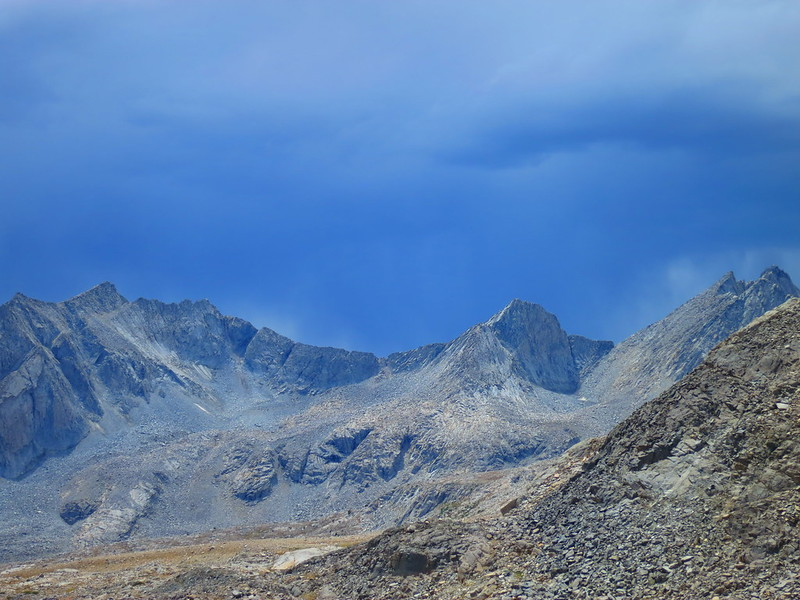 storm clouds at mather pass
