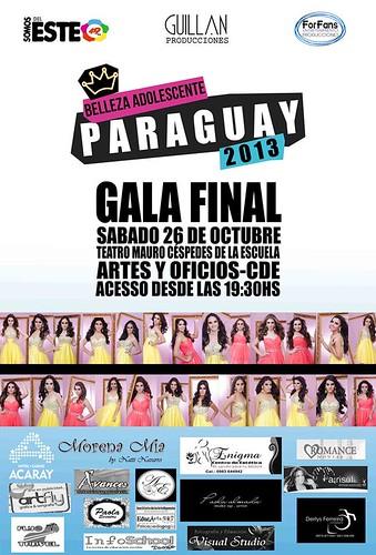 Belleza Adolescente Paraguay 2013