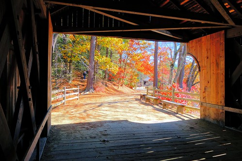 New England Covered Bridge by brooksbos