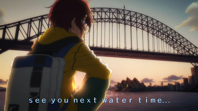 Free! Location Hunting: Rin Overlooking the Sydney Harbour Bridge