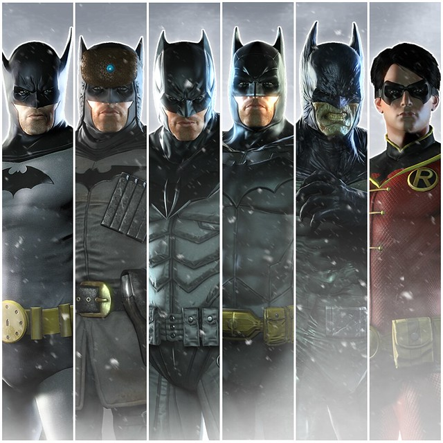 Batman Arkham Origins Skins Xbox 360 Batman: Arkham ...
