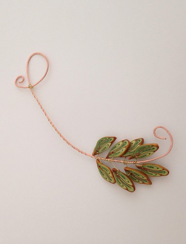 Ferny Leaves from Christi Friesen's Flourish / Flora book