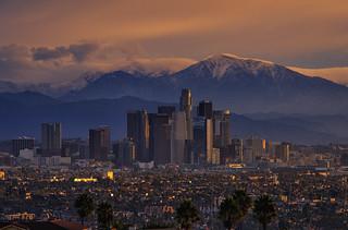 November Sunrise, Los Angeles, CA