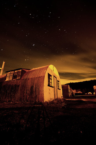 Stars over Nissen Hut
