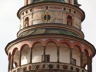 Torre del castillo de Cesky Krumlov