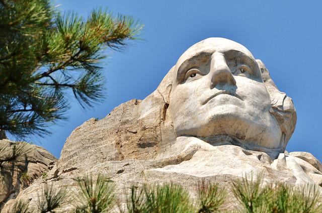 Georges Washington, Mont Rushmore