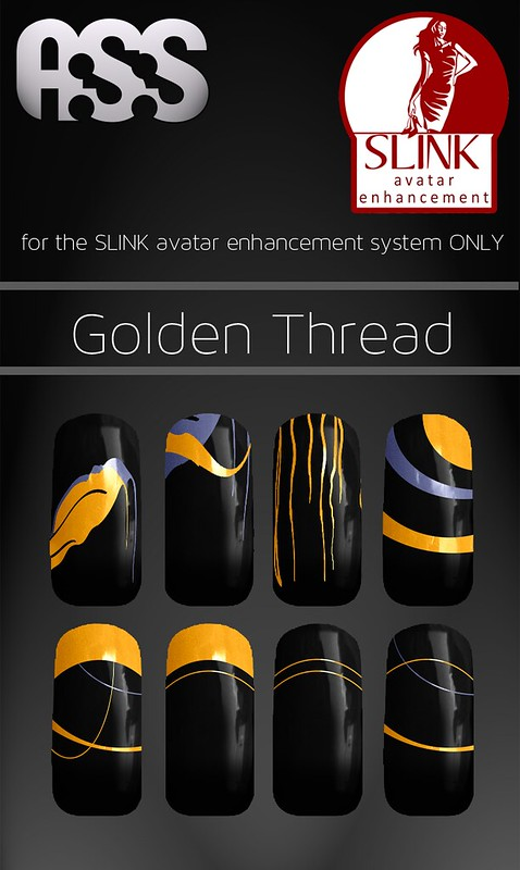 A:S:S - SLINK Nail appliers - Golden Thread