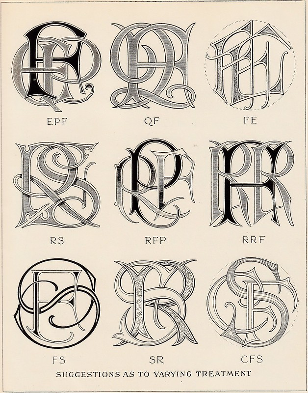 Monograms & Ciphers by AA Turbayne 1912 a