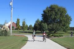 M&LG Mini-tri bike ride Finish!