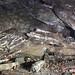 Die zerstörten Reste der Messerschmitt Halle