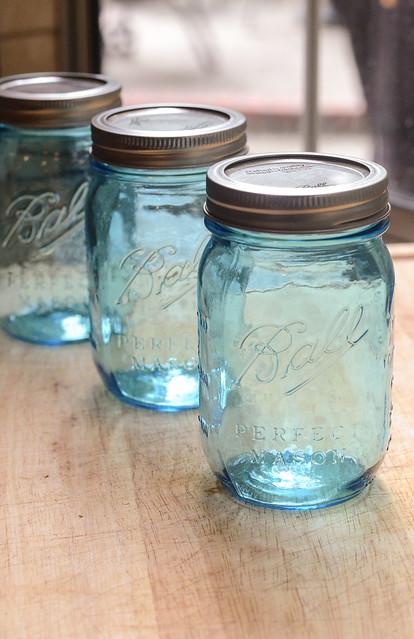 Ball Heritage Blue Jars
