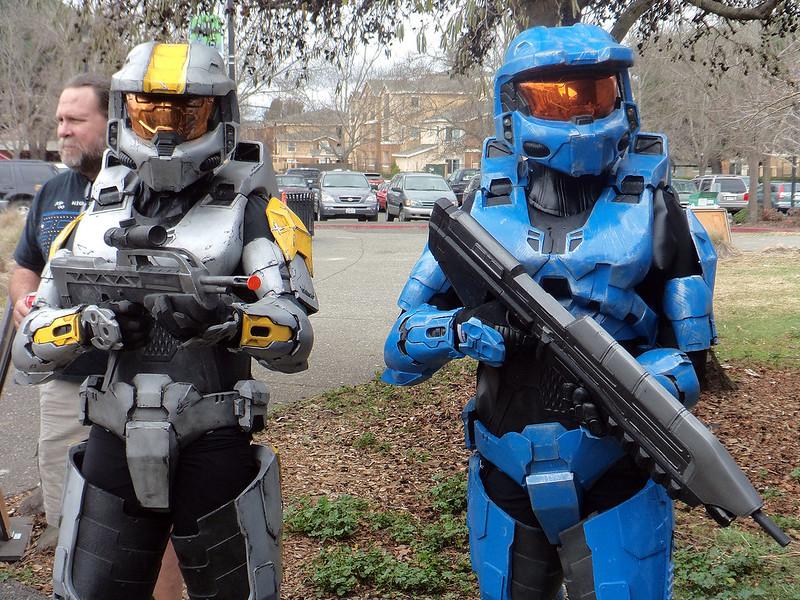 petaluma hobby expo 2014 03 - Halo Reach Halloween Costume