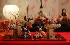 Kumamon Hina Dolls