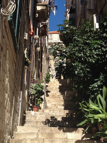 Stairs, Dubrovnik. In Travel Tips: 12 Things to Do in Southern Croatia