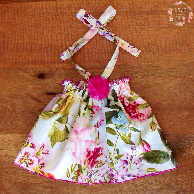 Voile Baby Halter Top by Rhapsody and Thread (Etsy)